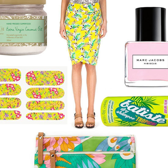 Aloha, Beauties: A Tropical Colour Story