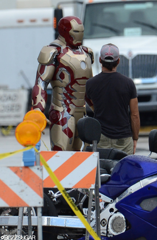 Get a Peek at Robert Downey Jr.'s New Suit in Iron Man 3