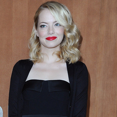 Emma Stone, Amanda Seyfried, Dianna Agron Front Row Pictures at Miu Miu Paris Fashion Week