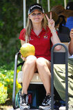 Jennifer Morrison traveled to Puerto Rico to play at a tournament in June 2009.