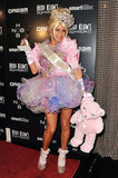 Fergie was a toddler in a tiara at Heidi Klum's 2011 party in NYC.