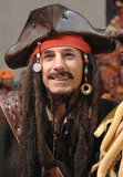 Matt Lauer showed his Captain Jack Johnny Depp outfit on Today in 2006.