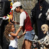 Halle Berry and Nahla Shopping For Halloween Costumes