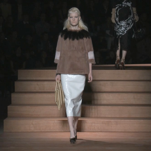 Watch the Miu Miu Spring Summer 2013 Paris Fashion Week Runway Show in Action!