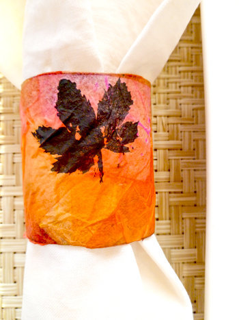 Fall Leaf Napkin Rings