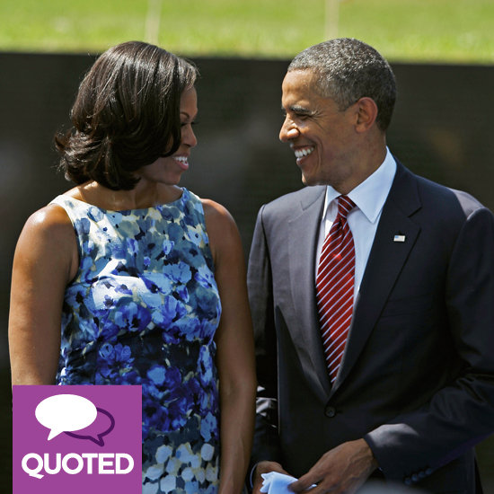 Barack and Michelle Obama on Their Relationship