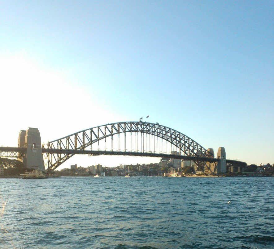 I've lived in Sydney my whole life, worked in the city for five years, and I'm still blown away every time I see the Harbour Bridge on a sunny day.