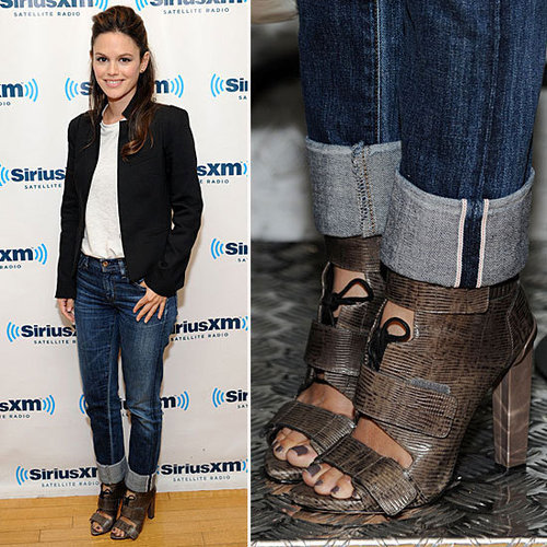 Pictures of Rachel Bilson in Alexander Wang Heels at SiriusXM Studio in New York City: Steal Her Designer Heel Style!