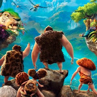 The Croods Movie Trailer With Emma Stone, Ryan Reynolds, Nicolas Cage