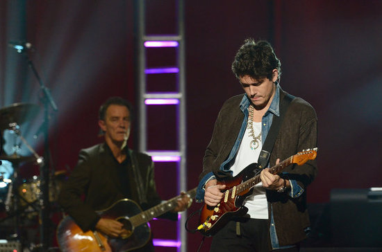 John Mayer performed in New Jersey.