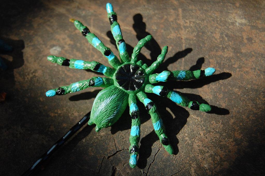 Spider Halloween Hair Clip