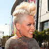 Get the Look at Home Pink&#039;s Undercut and Bleach Blonde Quiff