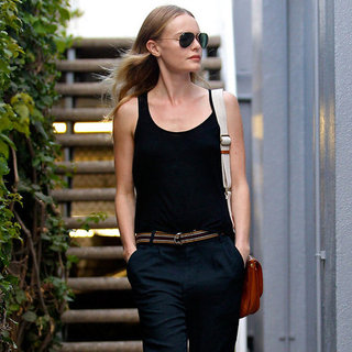 Kate Bosworth's Tan Crossbody Bag
