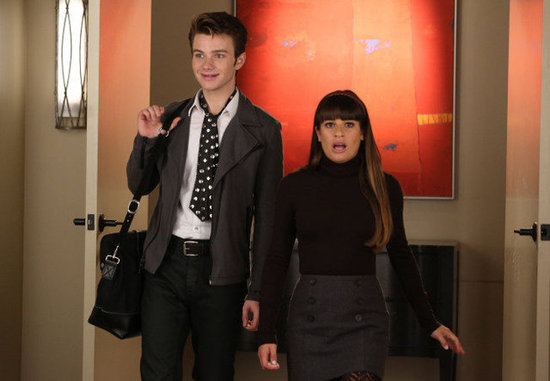 Kurt and Rachel From Glee