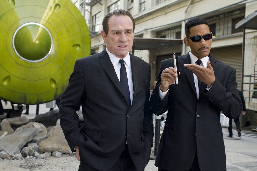 Agent K and Agent J From Men in Black