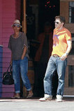 Halle Berry and Olivier Martinez left the Pink Taco after grabbing lunch.