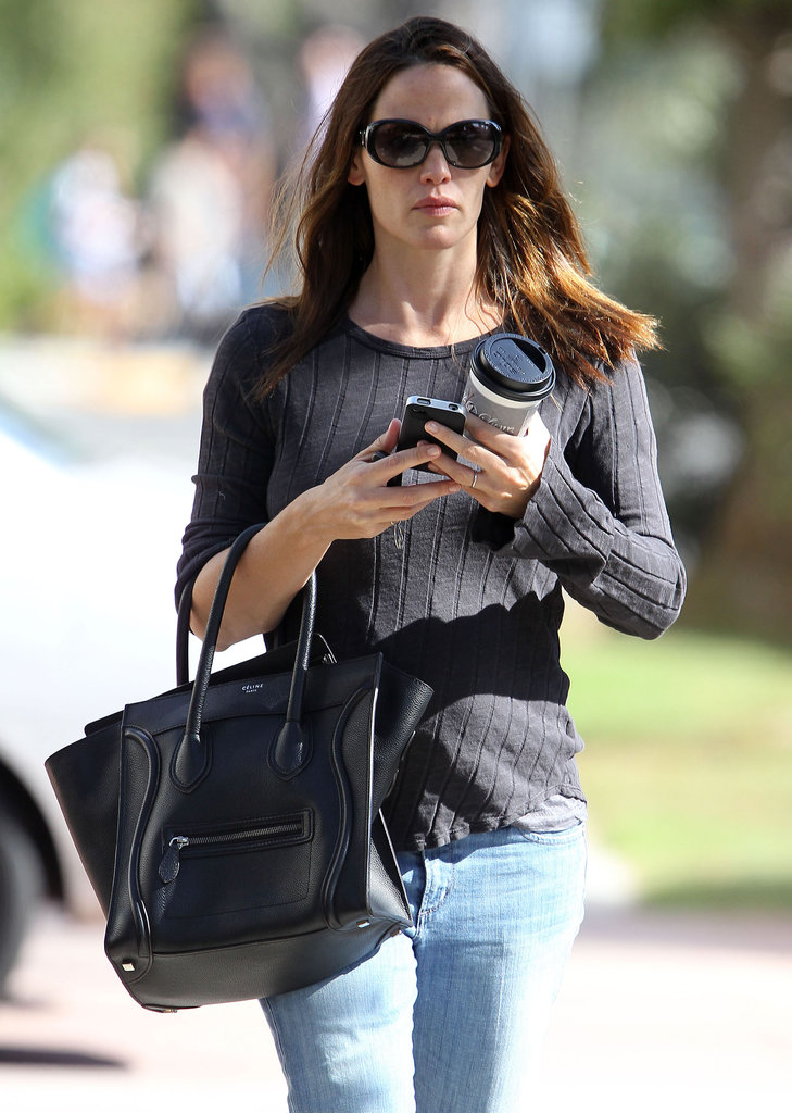 Jennifer Garner made her way down the street in Brentwood.