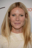 Gwyneth Paltrow happily posed for photos.