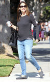 Jennifer Garner kept it casual in Brentwood.