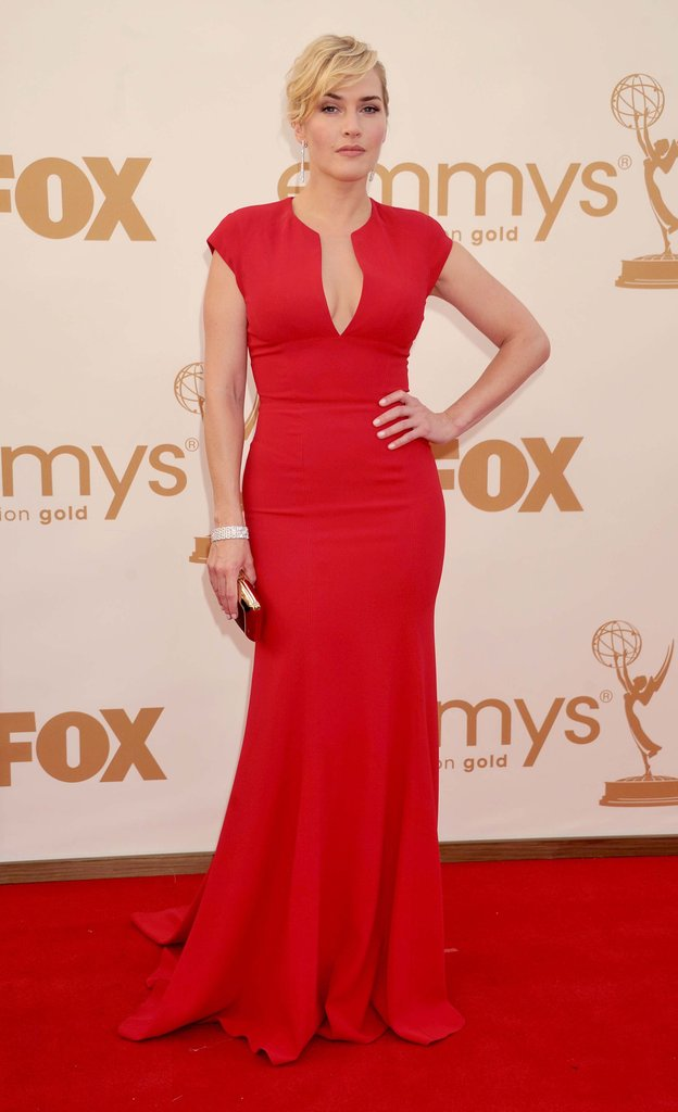 Kate was red hot in a low-cut Elie Saab gown at the Emmys in 2011.
