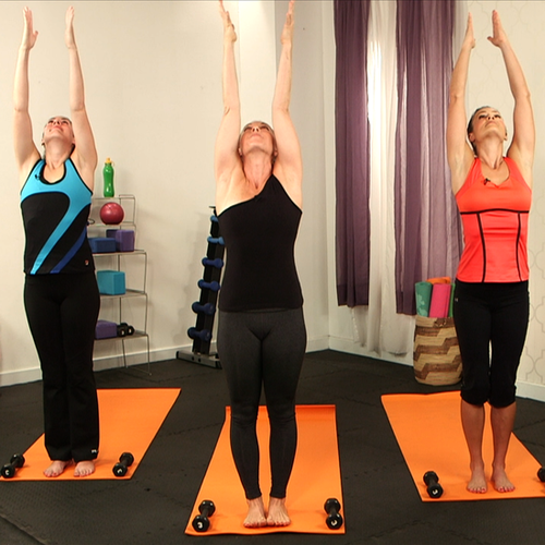 10-Minute Yoga Workout With Weights