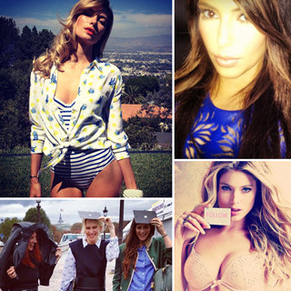 Instagram And Twitter Pictures From Miranda Kerr, Kim Kardashian, Jessica Alba And Doutzen Kroes