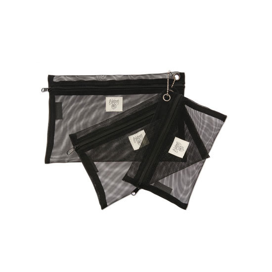 Bloom Cosmetics Mesh Bag Trio, $19.95