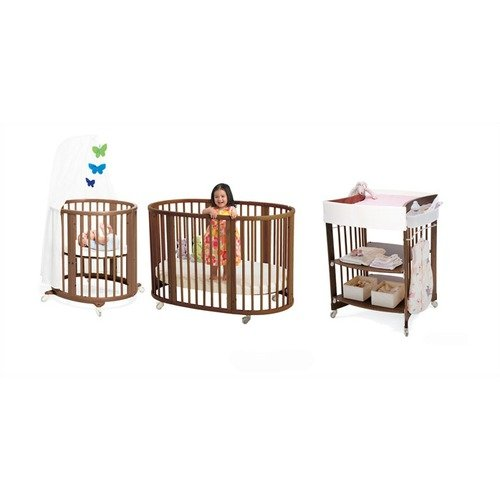 Stokke Sleepi Bassinet and Crib Nursery Set