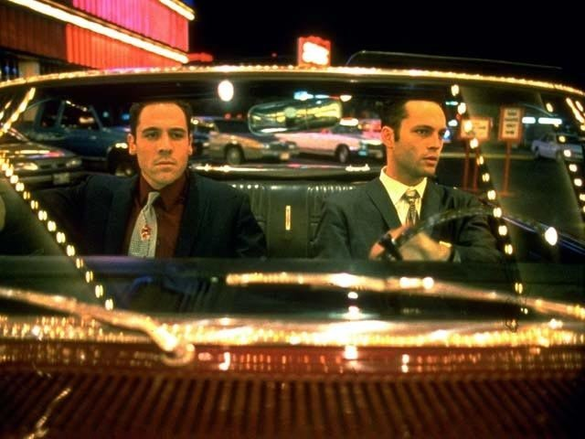 Mike and Trent From Swingers  What to wear for either: The best suit you got, baby. How to act: People aren't necessarily going to get it from the suits, so this one's really all about the attitude. All you need to know is that you're so money.  Source: Miramax