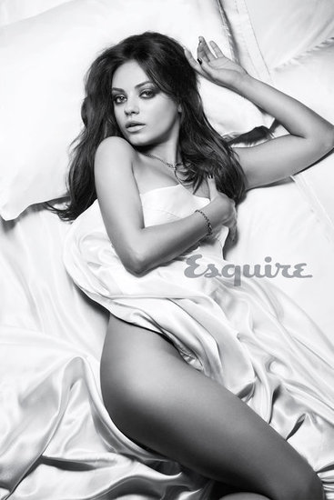 Mila Kunis Goes Nearly Nude to Celebrate a Sexy Honor From Esquire