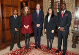 Kate Middleton and Prince William met with Middle Temple scholars.