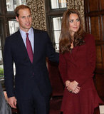 Kate Middleton and Prince William made a trip to Middle Temple together.