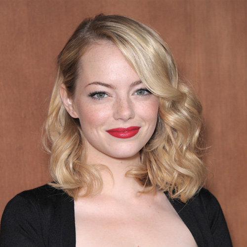 Expert Tip on How to Get Emma Stone's Perfect Side Part