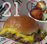 21: The number of different burgers at last year's Burger Bash.
