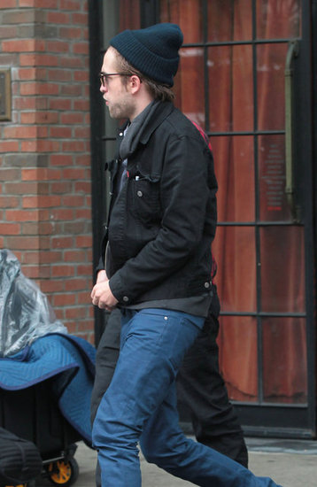 Robert Pattinson left the Bowery hotel.