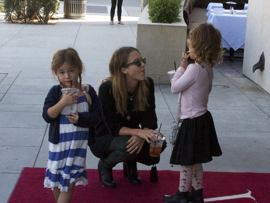 Jessica Alba Gets In Some Girl Time With Honor in LA
