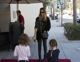 Jessica Alba spent time with her daughter Honor for a playdate in LA.