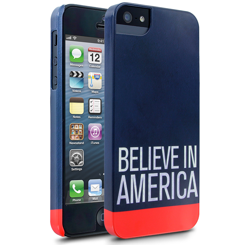 This elegant Believe in America case carries Romney's message.