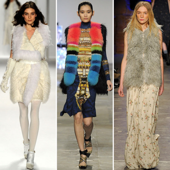 Left to right: J. Mendel, Peter Pilotto, Band of Outsiders