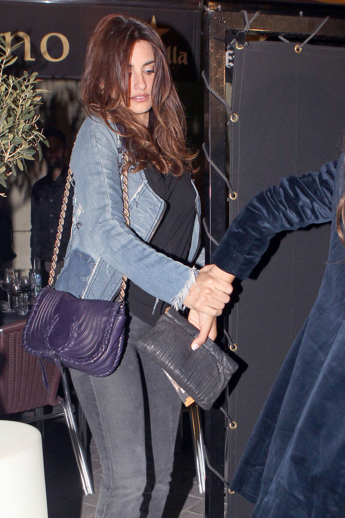 Penélope Cruz stepped out in Madrid.
