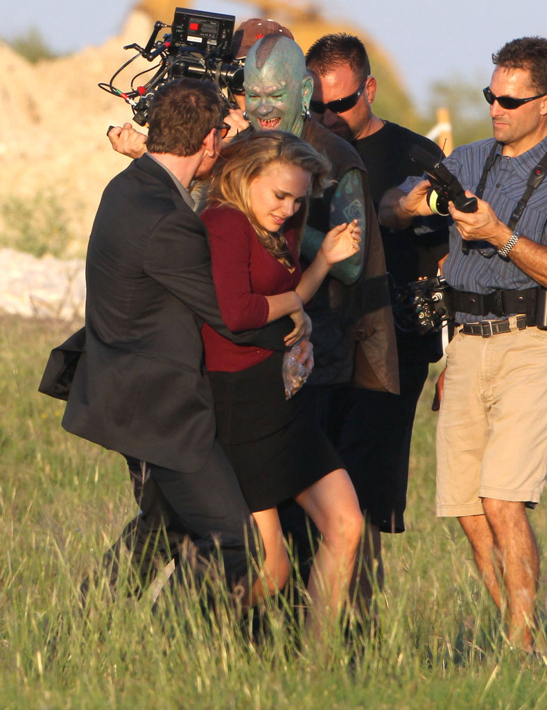Natalie Portman filmed a scene in Texas.