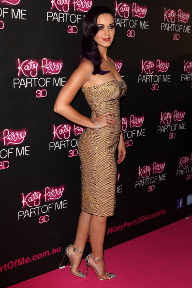 Katy Perry took to the red carpet in Australia for the premiere of her film, Katy Perry: Part of Me, in June 2012.