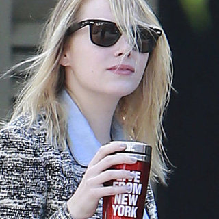 Emma Stone Takes a Movie Studio Meeting | Pictures