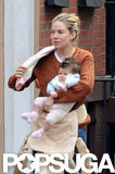 Sienna Miller took Marlowe to NYC.