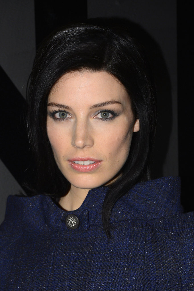 Jessica Pare wore dark blue Chanel.