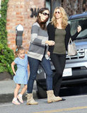Jennifer Garner and Seraphina spent some time together in LA.