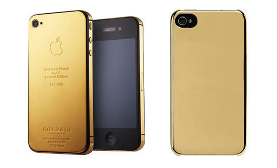 Gold  bullion iPhone case fashion accessories
