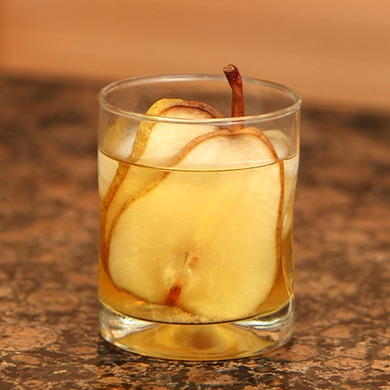 To Your Health: Pear Ginger Rum Runner Cocktail