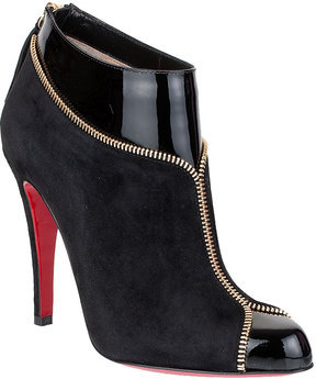 Christian Louboutin Colizip 100 suede ankle boot NEW SEASON