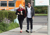 Gwen Stefani and Gavin Rossdale Get Their Caffeine Fix in LA